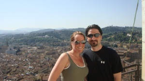 Florence, Italy on our honeymoon