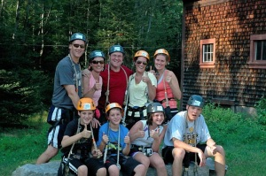 One of the best days ever at a ropes course with some of my family!