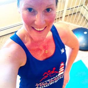 Training in my awesome mTT singlet!
