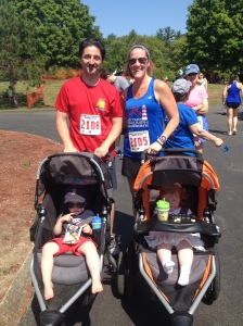 My husband, the kids, and I at a recent Seacoast Series 5K